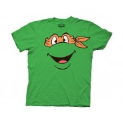 TMNT Michelangelo Face T-Shirt
