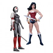 DC Comics New 52 Wonder Woman vs Katana Action Figure 2-pack